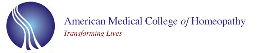 American Medical College of Homeopathy (AMCH) - Required