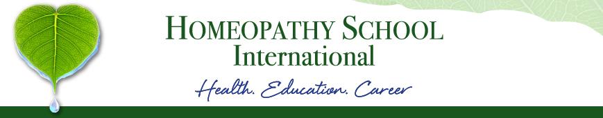 Homeopathy School International 101/102 Required Books